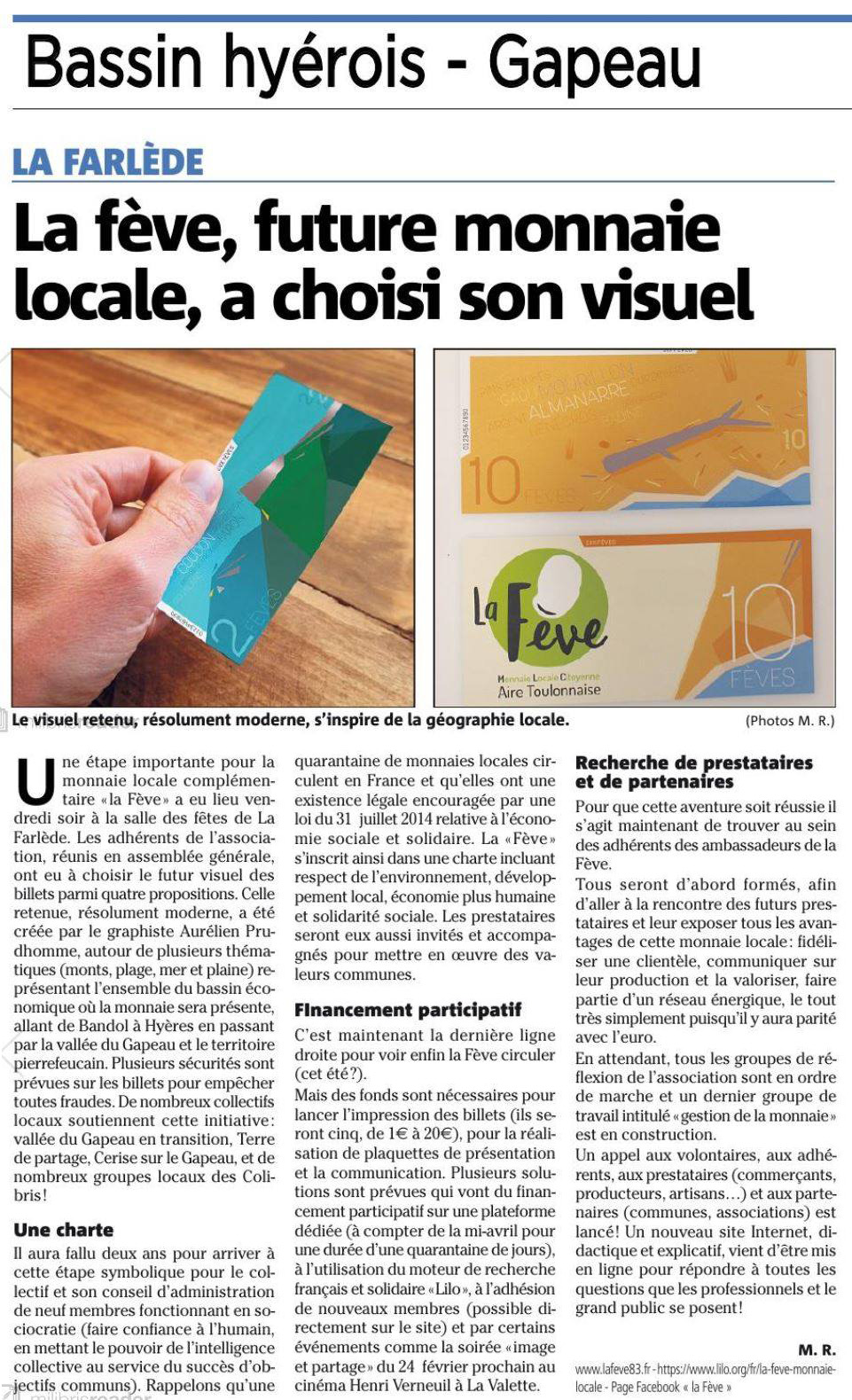 Article Var Matin Forum #4